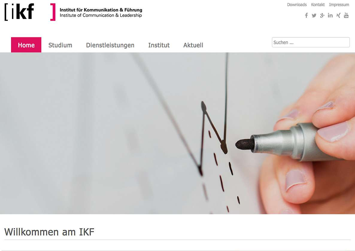 IKF: Relaunch der Website