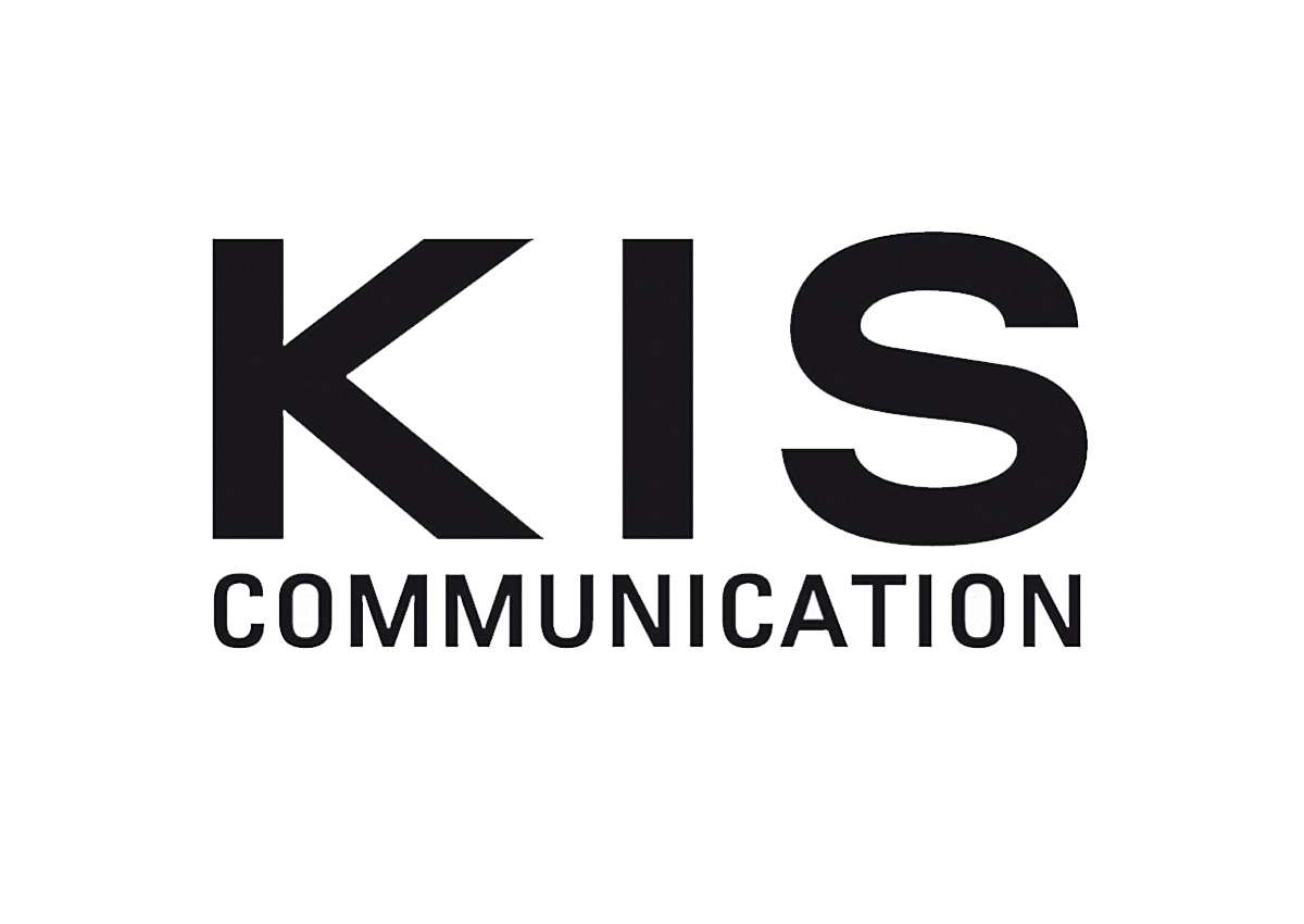 KIS Communication:, Logo, Printmedien & Webseite